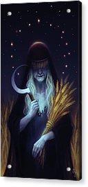 Mother Saturn Acrylic Print