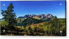 Acrylic Print featuring the photograph Mount Timpanogos by TL Mair