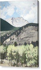 Mount Ypsilon Acrylic Print