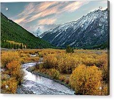 Mountain Grandeur Acrylic Print