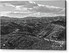 Mountain Paths Acrylic Print