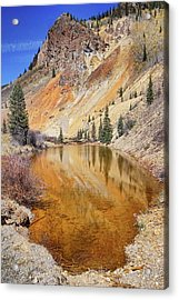 Mountain Reflections Acrylic Print