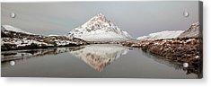 Acrylic Print featuring the photograph Mountain Sunrise - Glencoe - Scotland by Grant Glendinning
