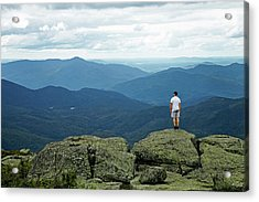 Mountain Top Acrylic Print