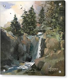 Mountain Waters Acrylic Print