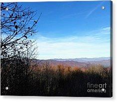 Acrylic Print featuring the photograph Mountains For Miles by Rachel Hannah
