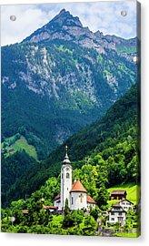 Mountainside Church Acrylic Print