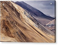 Acrylic Print featuring the photograph Mountainside by Whitney Goodey