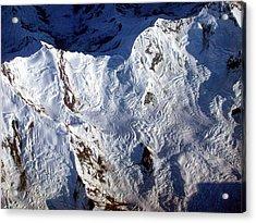 Mountaintop Snow Acrylic Print