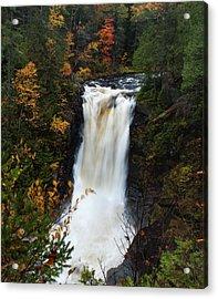 Acrylic Print featuring the photograph Moxie Falls by Rick Hartigan