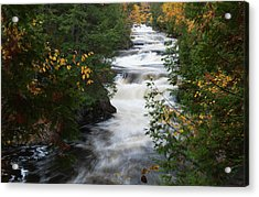Acrylic Print featuring the photograph Moxie Stream by Rick Hartigan