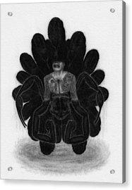 Mr Death - Artwork Acrylic Print