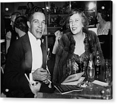 Mr. Robert Stevens And Mrs. Nicholas Acrylic Print by Bert Morgan