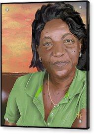 Mrs. Clements Acrylic Print