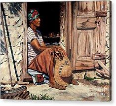 Ms Lerlene Acrylic Print
