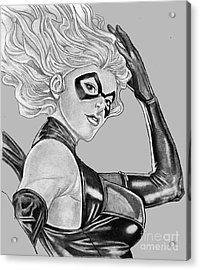 Ms Marvel Acrylic Print