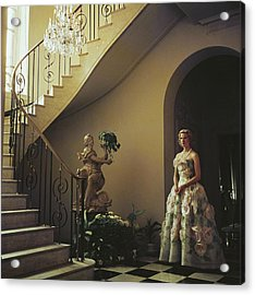 Muffy Bancroft Acrylic Print by Slim Aarons