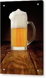 Mug Of Beer Acrylic Print by Ultramarinfoto