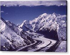Muldrow Glacier Acrylic Print by Hulton Archive