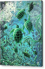 Munchkins Acrylic Print