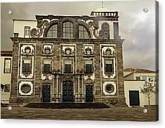 Acrylic Print featuring the photograph Museu Carlos Machado by Tony Murtagh