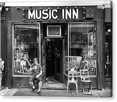Music Inn Acrylic Print