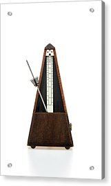 Musical Instrument On White Background Acrylic Print