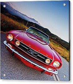 Mustang Convertible Acrylic Print