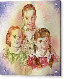 The Latimer Kids Acrylic Print