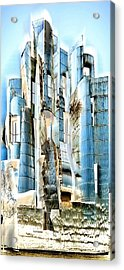 My Fortress Of Dancing Steel Acrylic Print
