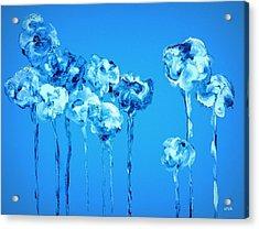 My Garden - Blue Acrylic Print