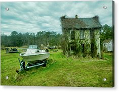 Auntie's Old House Acrylic Print
