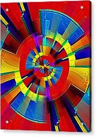 My Radar In Color Acrylic Print