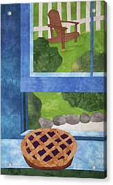 My Soul In A Blackberry Pie Acrylic Print