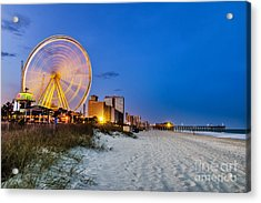 Myrtle Beach, South Carolina, Usa City Acrylic Print