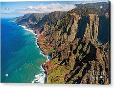 Na Pali Coast, Kauai, Hawaii Acrylic Print