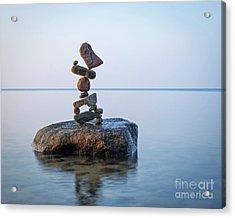 Zen Stack #9 Acrylic Print