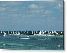 Nassau Sailing Acrylic Print