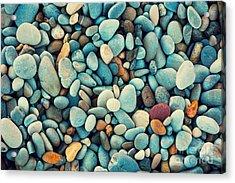 Natural Abstract Vintage Colorful Acrylic Print