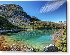 Acrylic Print featuring the photograph Natural Splendor Of The Joffre Lakes by Pierre Leclerc Photography