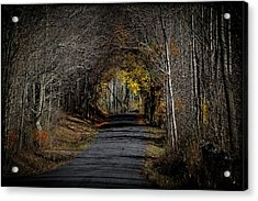 Natural Tunnel - Roxbury, New York Acrylic Print