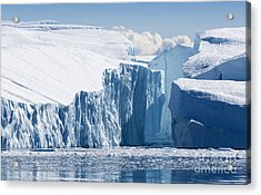 Nature And Landscapes Of Greenland Acrylic Print