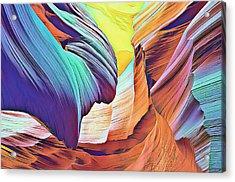 Nature's Powerful Ways Acrylic Print