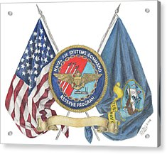 Naval Air Systems Command Reserve Program Acrylic Print