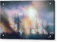 Naval Battle II Acrylic Print