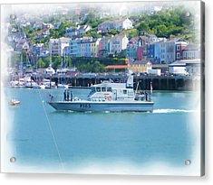 Naval Vessel Acrylic Print