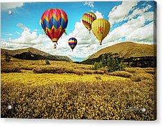 Navigating Guanella Pass Acrylic Print