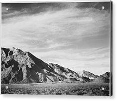 Near Death Valley Acrylic Print