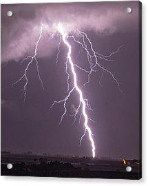 Nebraska Arcus And Lightning 046 Acrylic Print