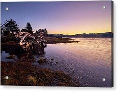 Acrylic Print featuring the photograph Nehalem Bay Sunrise by Whitney Goodey